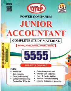 Parth Complete Study Matherial 5555 Quesitons For Junior Accountant (RVPNL, JVVNL,AVVNL, JDVVNL, RVUNL) Exam Latest Edition 2021