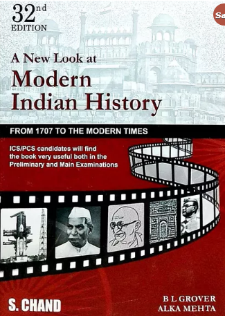 Buy Modern Indian History Adhunik Bharat Ka Itihas By B L Grover Alka Mehta In English At Onlinebooksstore In